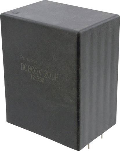 Fóliakondenzátor Radiális kivezetéssel 20 µF 1100 V/DC 10 % 37.5 mm (H x Sz) 41.5 mm x 30 mm Panasonic EZP-E1B206MTA 1 db