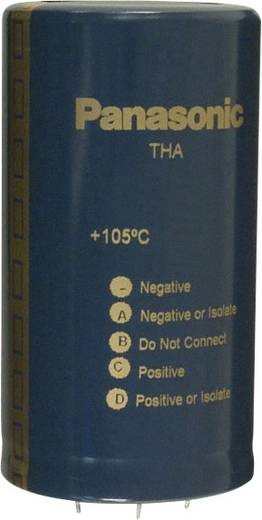 Elektrolit kondenzátor Snap-In 25 mm 5600 µF 200 V 20 % (Ø) 50 mm Panasonic ECE-P2DA562HA 1 db