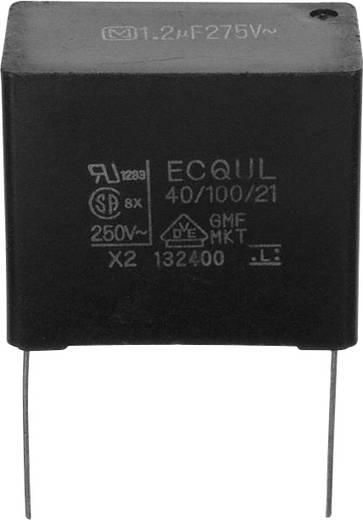 Fóliakondenzátor Radiális kivezetéssel 1.2 µF 275 V/AC 20 % 27.5 mm (H x Sz) 30.5 mm x 16.5 mm Panasonic ECQ-U2A125ML 1 db