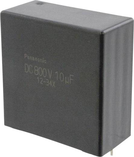 Fóliakondenzátor Radiális kivezetéssel 10 µF