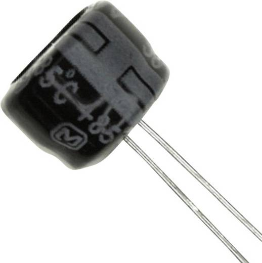 Elektrolit kondenzátor Radiális kivezetéssel 2.5 mm 22 µF 50 V 20 % (Ø) 8 mm Panasonic ECE-A1HKS220 1 db