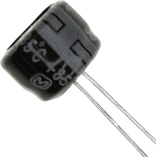 Elektrolit kondenzátor Radiális kivezetéssel 2.5 mm 220 µF 10 V 20 % (Ø) 8 mm Panasonic ECE-A1AKS221 1 db