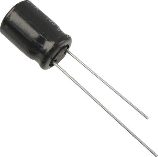 Elektrolit kondenzátor Radiális kivezetéssel 3.5 mm 100 µF 50 V 20 % (Ø) 8 mm Panasonic EEU-FR1H101 1 db