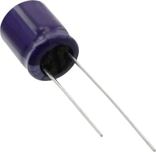 Elektrolit kondenzátor Radiális kivezetéssel 5 mm 220 µF 63 V 20 % (Ø) 10 mm Panasonic ECA-1JM221 1 db