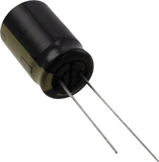 Elektrolit kondenzátor Radiális kivezetéssel 5 mm 2200 µF 10 V 20 % (Ø) 12.5 mm Panasonic EEU-FM1A222 1 db