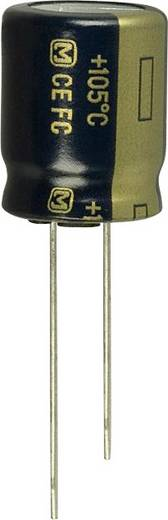 Elektrolit kondenzátor Radiális kivezetéssel 1.5 mm 39 µF 16 V 20 % (Ø) 4 mm Panasonic EEU-FC1C390 1 db