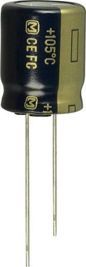 Elektrolit kondenzátor Radiális kivezetéssel 5 mm 820 µF 6.3 V 20 % (Ø) 10 mm Panasonic EEU-FC0J821 1 db