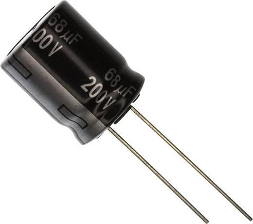Elektrolit kondenzátor Radiális kivezetéssel 7.5 mm 68 µF 350 V 20 % (Ø) 16 mm Panasonic EEU-EE2V680 1 db