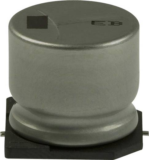 Elektrolit kondenzátor SMD 47 µF 200 V 20 % (Ø x H) 18 mm x 7.3 mm Panasonic EEV-EB2D470SM 1 db