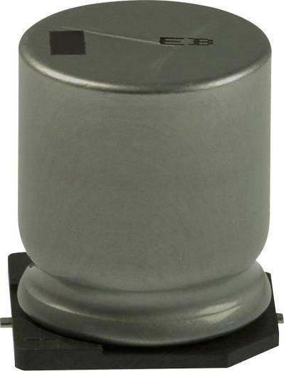 Elektrolit kondenzátor SMD 100 µF 200 V 20 % (Ø x H) 18 mm x 7.3 mm Panasonic EEV-EB2D101M 1 db