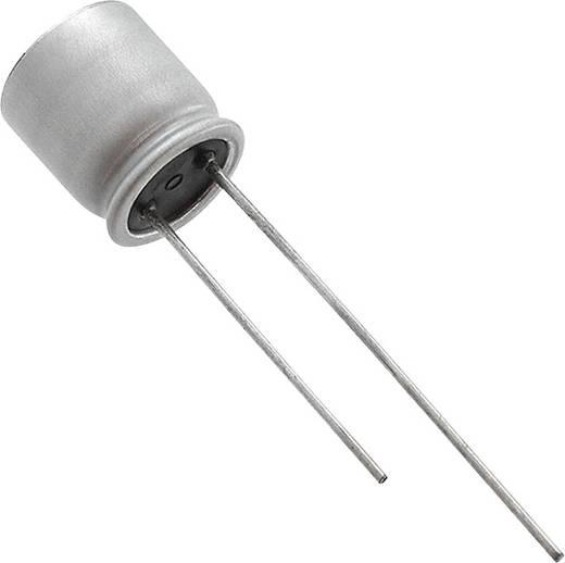 Elektrolit kondenzátor Radiális kivezetéssel