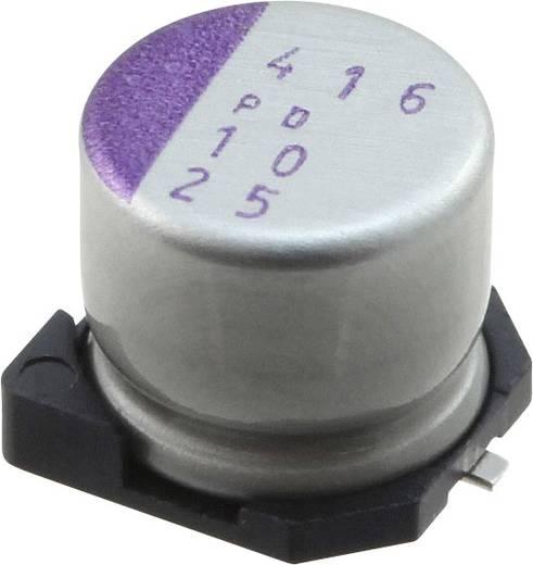 Elektrolit kondenzátor SMD 10 µF 25 V 20 % (Ø) 6.3 mm Panasonic 25SVPD10M 1 db