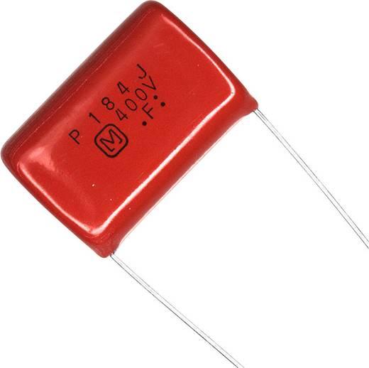 Fóliakondenzátor Radiális kivezetéssel 0.18 µF 400 V/DC 5 % 25 mm (H x Sz) 29.5 mm x 10.5 mm Panasonic ECQ-P4184JU 1 db