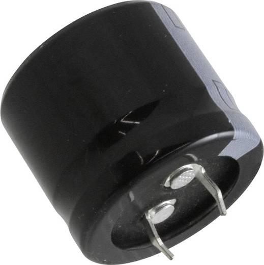 Elektrolit kondenzátor Snap-In 10 mm 12000 µF 16 V 20 % (Ø x H) 30 mm x 7.3 mm Panasonic ECO-S1CA123DA 1 db