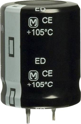 Elektrolit kondenzátor Snap-In 10 mm 390 µF 250 V 20 % (Ø) 25 mm Panasonic EET-ED2E391CA 1 db