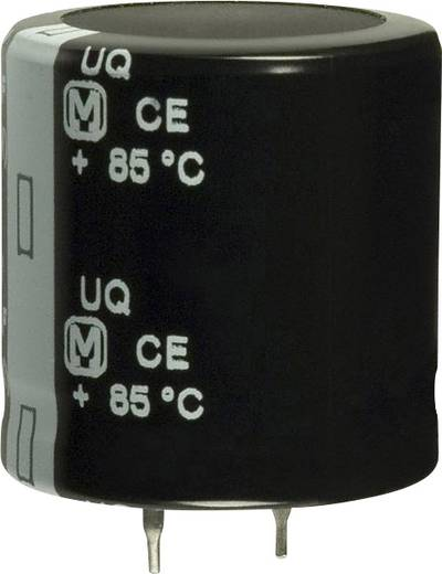 Elektrolit kondenzátor Snap-In 330 µF 400 V 20 % (Ø) 30 mm Panasonic EET-UQ2G331DA 1 db