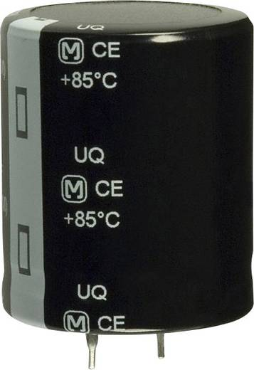 Elektrolit kondenzátor Snap-In 1800 µF 160 V 20 % (Ø) 30 mm Panasonic EET-UQ2C182DA 1 db