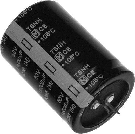 Elektrolit kondenzátor Snap-In 10 mm 10000 µF 50 V 20 % (Ø) 35 mm Panasonic ECE-S1HG103Z 1 db