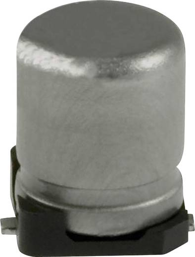 Elektrolit kondenzátor SMD 10 µF 16 V 20 % (Ø) 5 mm Panasonic EEE-1CA100NR 1 db