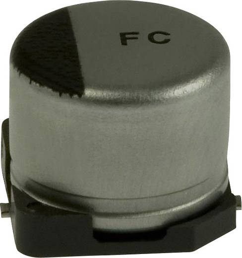 Elektrolit kondenzátor SMD 10 µF 50 V 20 % (Ø) 6.3 mm Panasonic EEE-FC1H100P 1 db