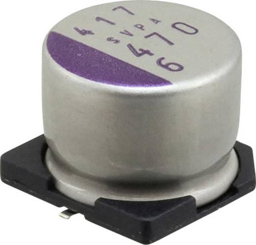 Elektrolit kondenzátor SMD 470 µF 6.3 V 20 % (Ø) 10 mm Panasonic 6SVPA470M 1 db
