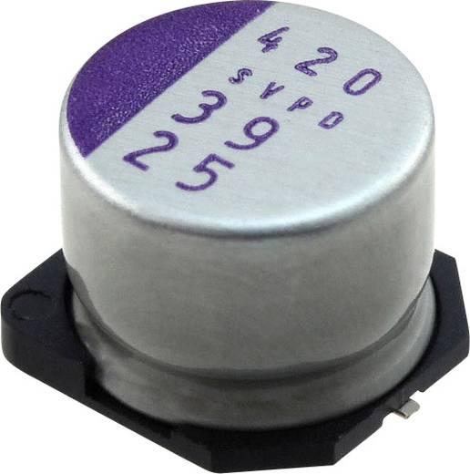 Elektrolit kondenzátor SMD 39 µF 25 V 20 % (Ø) 10 mm Panasonic 25SVPD39M 1 db