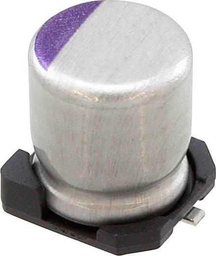 Elektrolit kondenzátor SMD 100 µF 6.3 V 20 % (Ø) 5 mm Panasonic 6SVPC100MY 1 db