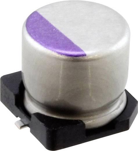 Elektrolit kondenzátor SMD 220 µF 10 V 20 % (Ø) 6.3 mm Panasonic 10SVPE220M 1 db