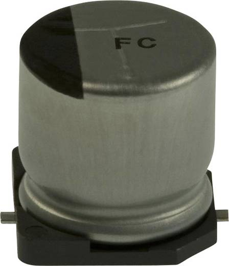 Elektrolit kondenzátor SMD 47 µF 50 V 20 % (Ø) 10 mm Panasonic EEE-FC1H470P 1 db