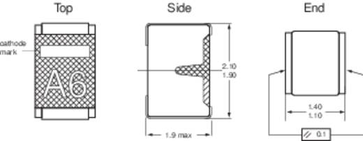 Zener dióda C 30 V ZO Ház típus (félvezető) SOD-110 NXP Sem