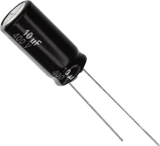 Elektrolit kondenzátor Radiális kivezetéssel 5 mm 10 µF 450 V 20 % (Ø) 10 mm Panasonic EEU-EE2W100U 1 db