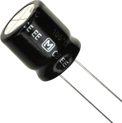 Elektrolit kondenzátor Radiális kivezetéssel 7.5 mm 150 µF 250 V 20 % (Ø x H) 18 mm x 7.3 mm Panasonic EEU-EE2E151 1 db