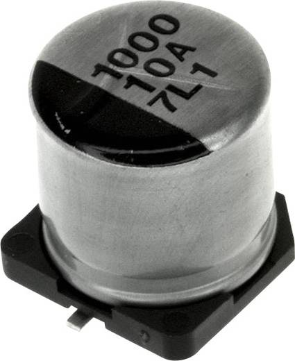 Elektrolit kondenzátor SMD 1000 µF 6.3 V 20 % (Ø) 10 mm Panasonic EEE-0JA102AP 1 db
