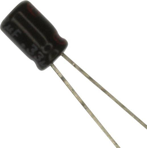 Elektrolit kondenzátor Radiális kivezetéssel 1 mm