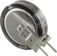 Super Cap kondenzátor, 1 F, 5.5 V, 20 %, (H x Sz) 19 x 5.5 mm,Panasonic EEC-S5R5V105N Panasonic