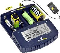 AccuPower IQ338XL Hengeres akku töltő NiCd, NiMH, Lítiumion 10440, 14500, 16340, 16650, 17355, 17500, 17670, 18490, 185 (34354) AccuPower