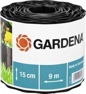 Gardena ágyáskeret, ágyásszegély 9m x 15cm, barna színű Gardena 532 GARDENA