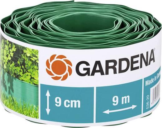 Gardena ágyáskeret, ágyásszegély 9m x 9cm, zöld színű Gardena 536
