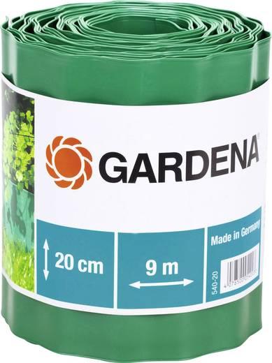 Gardena ágyáskeret, ágyásszegély 9m x 20cm, zöld színű Gardena 540