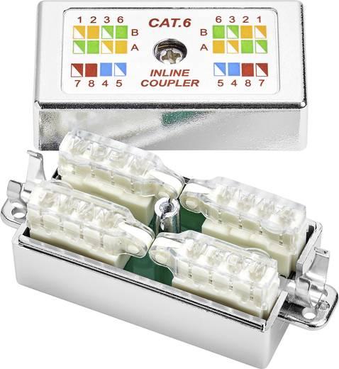Csatlakozó doboz CAT 6-hoz, szerszámmentes szerelés, renkforce