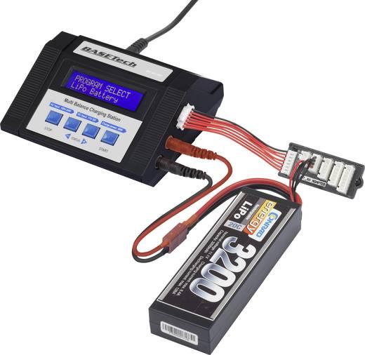 Multifunkciós modell akktöltő 100 V/240 V 12 V 10 A Basetech 80AC