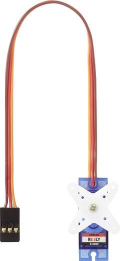 Analóg szervó hajtómű-anyag: műanyag, dugaszoló rendszer: JR, Reely S0009