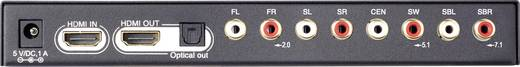 HDMI audio extraktor toslink és 7.1-es RCA hang kimenettel, SpeaKa Professional