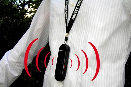 Táskariasztó, pánikriasztó LED-el, kh-security 100102