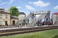 Auhagen 11363 H0 Gyalogos-híd (H x Sz x Ma) 205 x 175 x 120 mm Auhagen