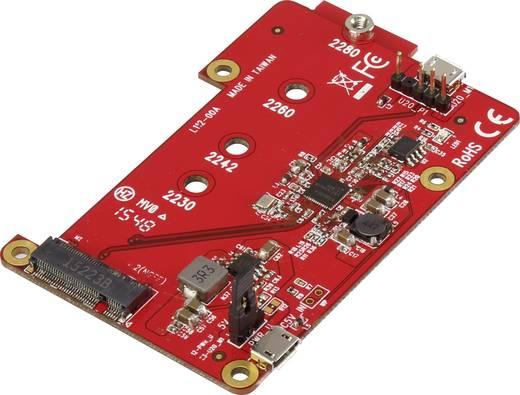 M.2 SATA SSD bővítő panel Raspberry Pi-hez