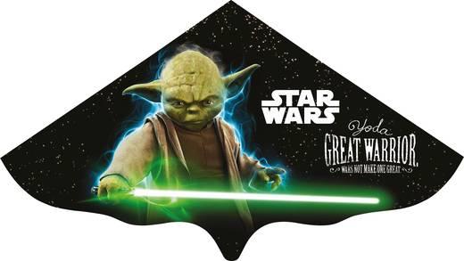 Papírsárkány, egyzsinóros gyereksárkány 1150mm Günther Flugspiele Star Wars Yoda 1226