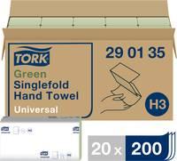 TORK 290135 Zickzack Universal Papír kéztörlők (H x Sz) 23 cm x 24.8 cm Zöld 20 x 200 lap/csom. 4000 db TORK