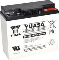 Yuasa REC22-12 YUAREC2212 Ólomakku 12 V 22 Ah Ólom-vlies (AGM) (Sz x Ma x Mé) 181 x 167 x 76 mm M5 csavaros csatlakozó K Yuasa