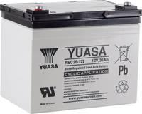 Yuasa REC36-12 YUAREC3612 Ólomakku 12 V 36 Ah Ólom-vlies (AGM) (Sz x Ma x Mé) 196 x 169 x 130 mm M5 csavaros csatlakozó Yuasa